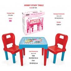 """Столик и 2-а стульчика """"Hobby Table""""  код 03-414 /1"""