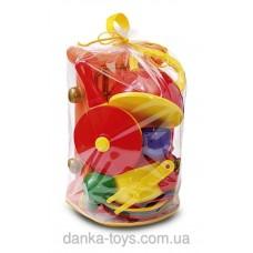 Набор детской посуды с газовой плитой 34 предмета 047