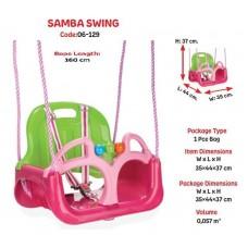 """Качеля пластик """"SAMBA""""  35х44 код 06-129 /1"""