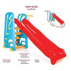 """Горка для детей пластик """"WAVY"""" код 06-142 /1"""
