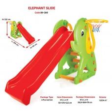 """Горка для детей пластик """"ELEPHANT"""" код 06-160 /1"""