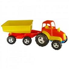 Трактор с прицепом 07-709, 2 шт/уп