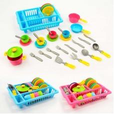 Набор посуды с подставкой арт.3282