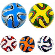 Мяч футбольный 300-320г, 5 видов 466-1086