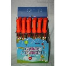 """Мыльные пузыри """"Меч""""640147, 33 см, 24 шт/уп, цена за уп,"""