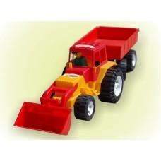Трактор ковш прицеп