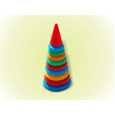 Пирамидка (46 см)(12 колец)019