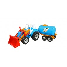 Трактор с бочкой 051