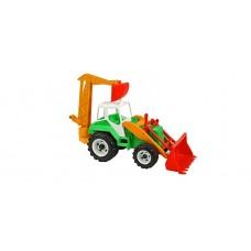 Трактор с ковшом 020
