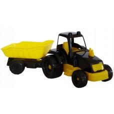 Трактор с прицепом 07-711, 10 шт/уп